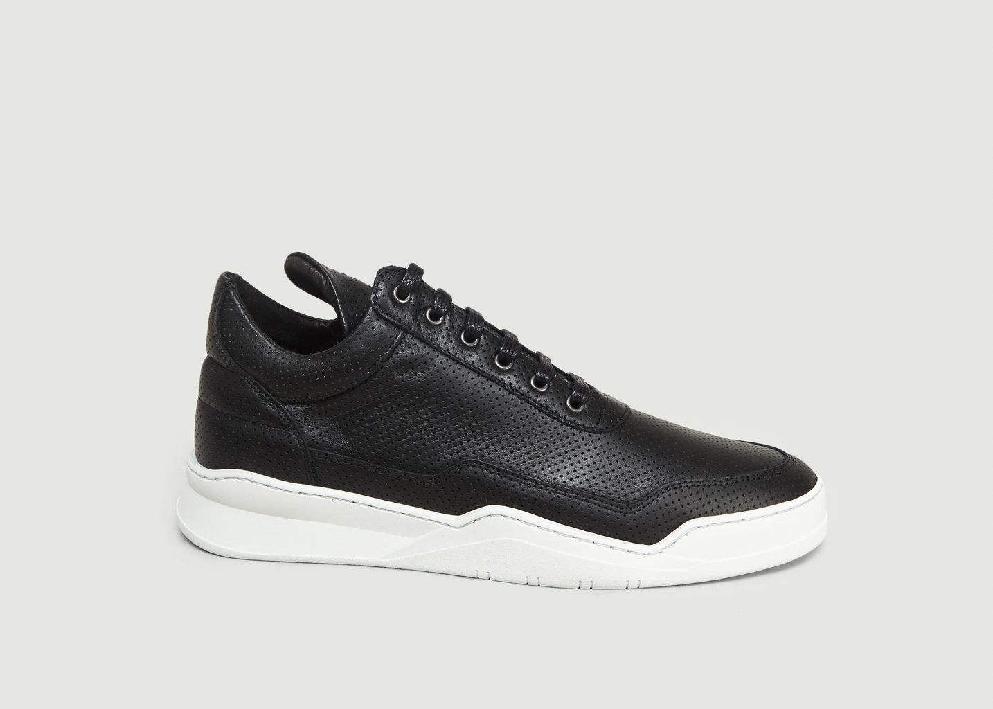 2ff511853edf Sneakers Low Top Ghost Nappa Noir Filling Pieces