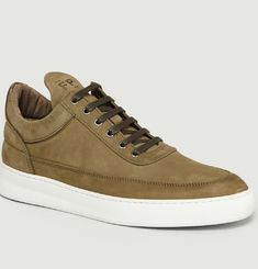 Sneakers Low Top Lane Nubuck
