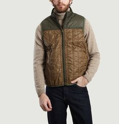 Quilted Sleeveless Gilet