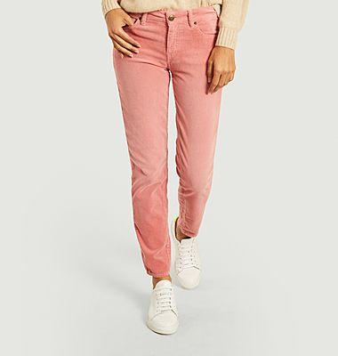 Pantalon slim en velours côtelé Colette 139