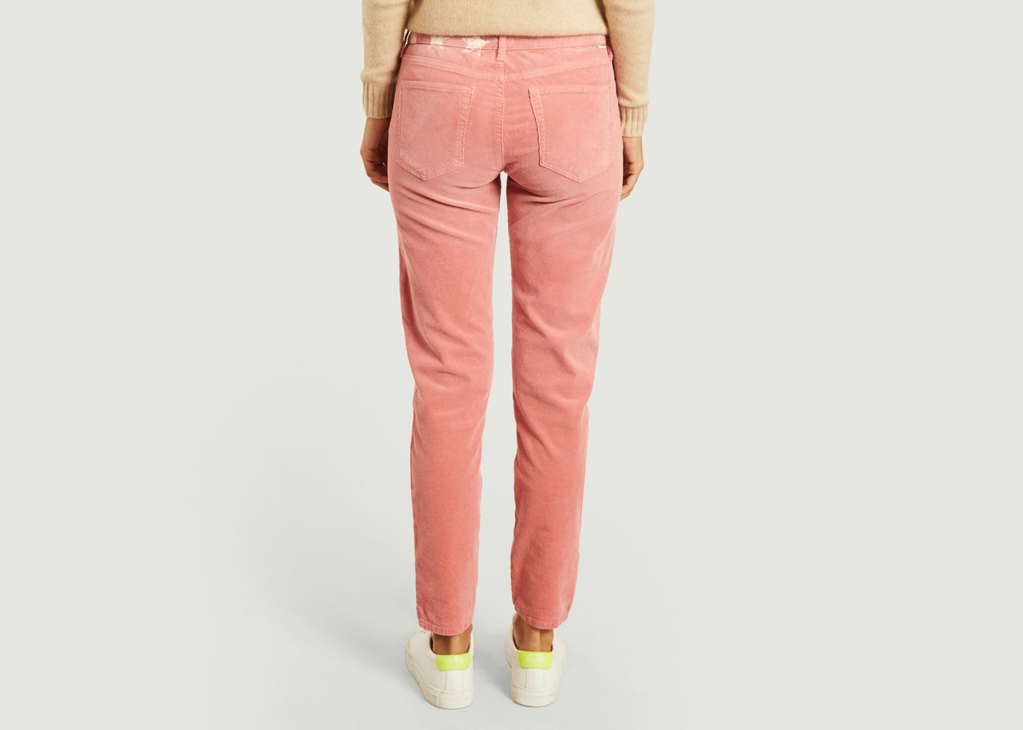 Pantalon slim en velours côtelé Colette 139 - Five