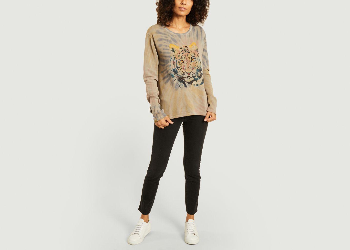 Sweatshirt imprimé Tiger - Five