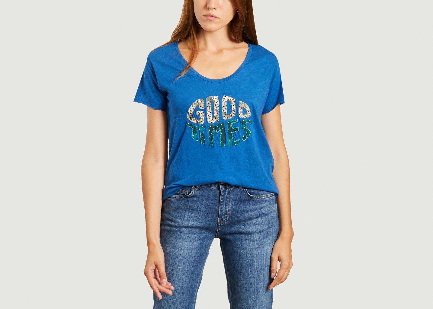 T-shirt à lettrage Good Times - Five