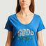 matière T-shirt à lettrage Good Times - Five