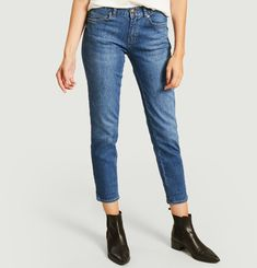 841 Tara boyfriend jeans with embroidered sun