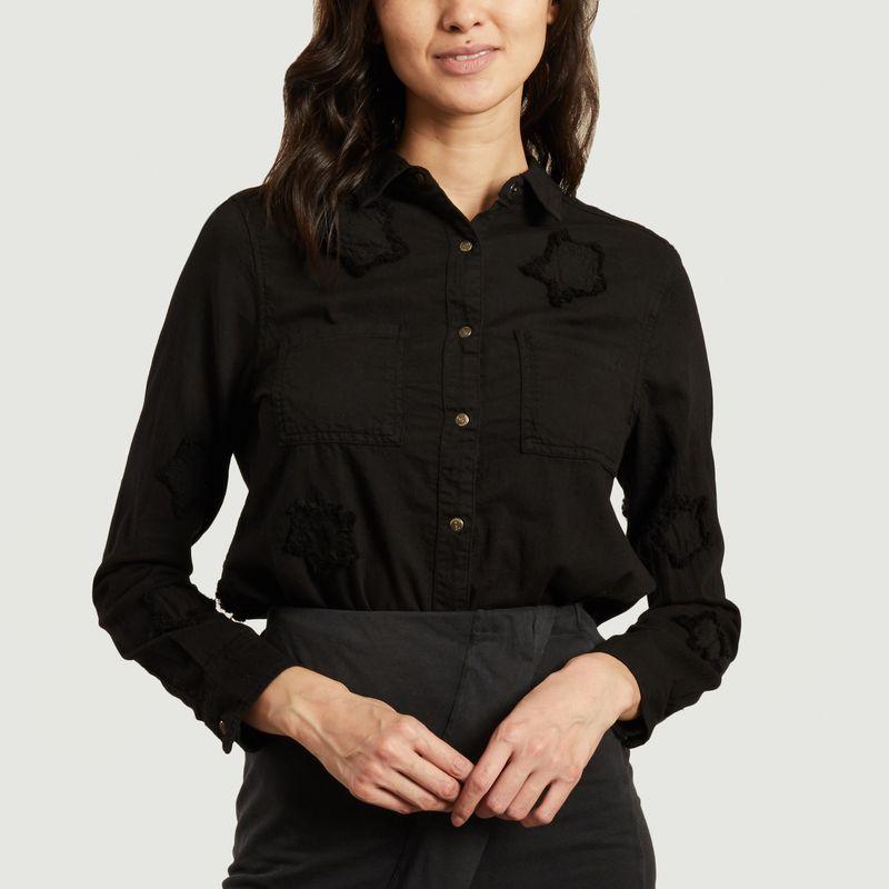 Chemise en coton avec étoiles brodées Laura - Five