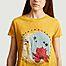 matière T-shirt Moon - Five