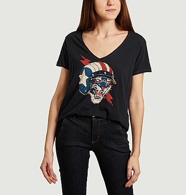 T-shirt USA Tiger