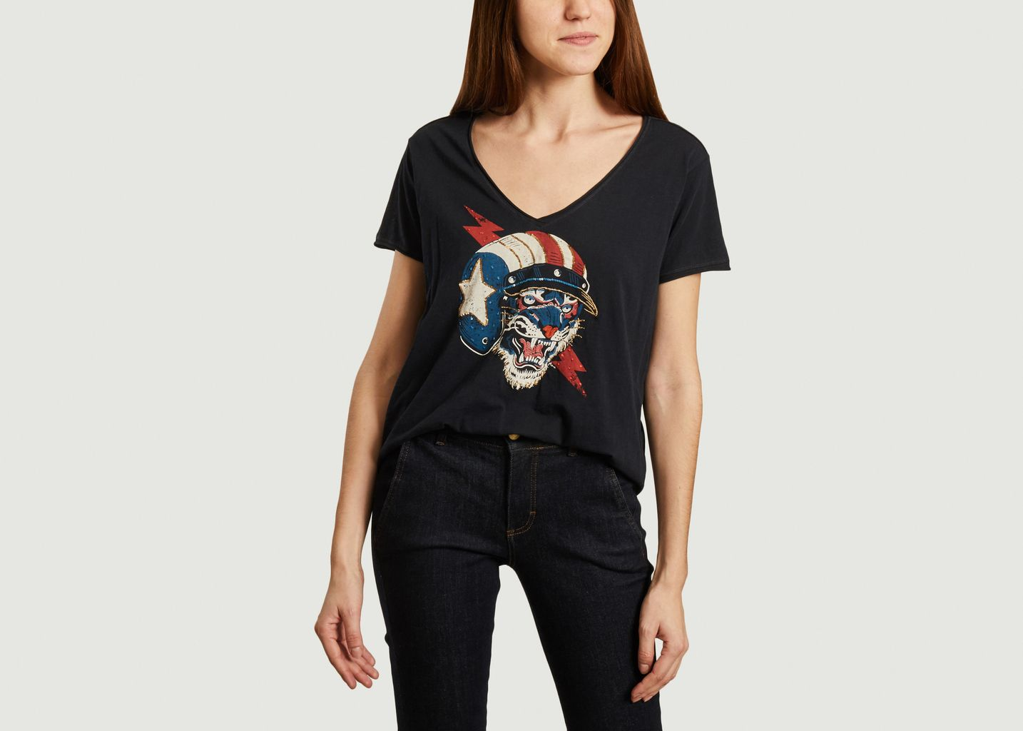 T-shirt USA Tiger - Five