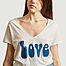 matière T-shirt Love - Five