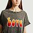 matière T-shirt Love tie & dye - Five