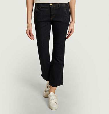 Lara cropped flare jeans