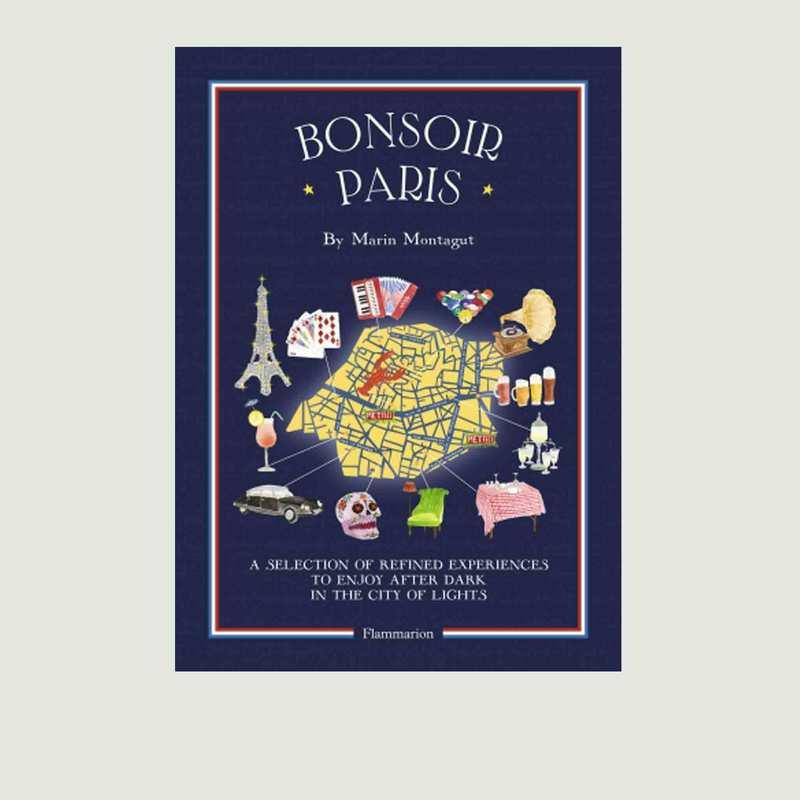 Guide Bonsoir Paris Anglais - Flammarion