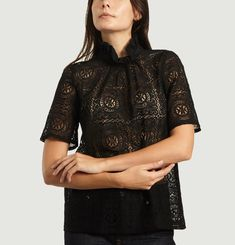 Lili Rose Embroidered Blouse