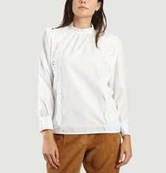 Coppola Embroidered Blouse
