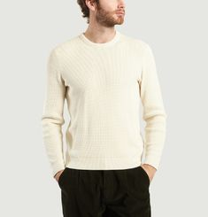 Waffle Patch Jumper