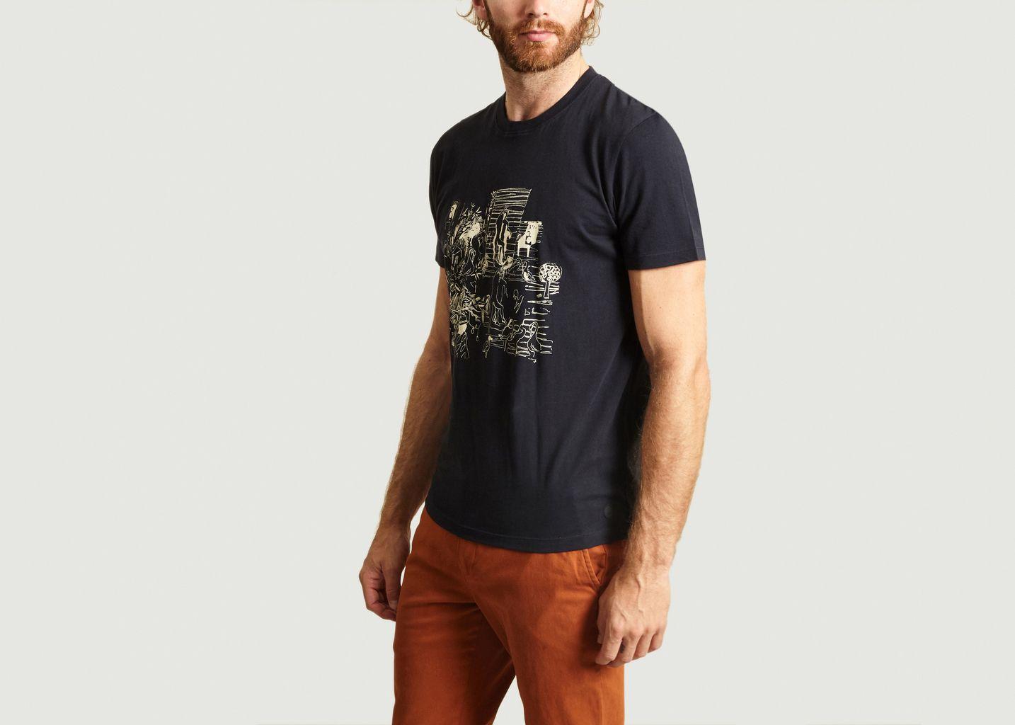 T-shirt Imprimé Folk x Goss Brothers - Folk