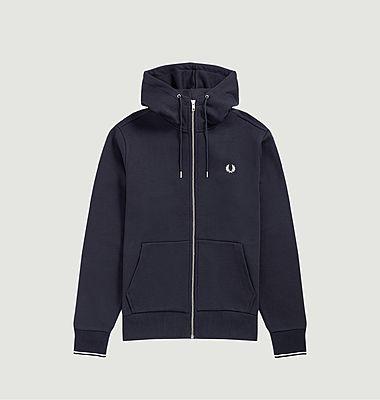 Sweatshirt à capuche avec ferneture éclair