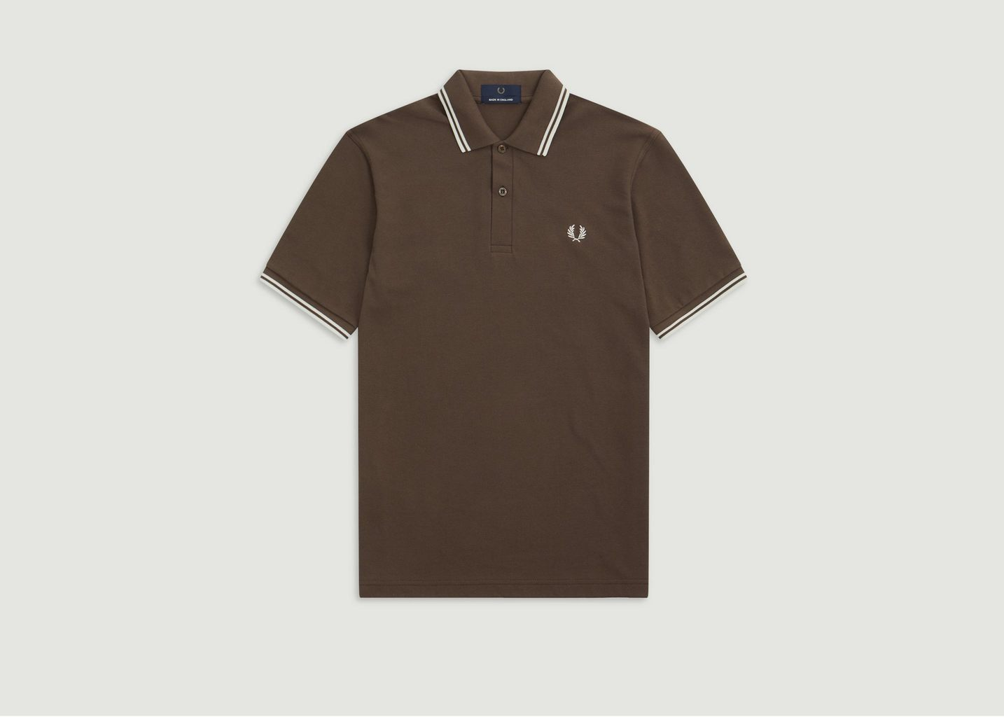 Polo A Bords Rayés M12 - Fred Perry Reissues