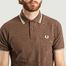 matière Polo A Bords Rayés M12 - Fred Perry Reissues