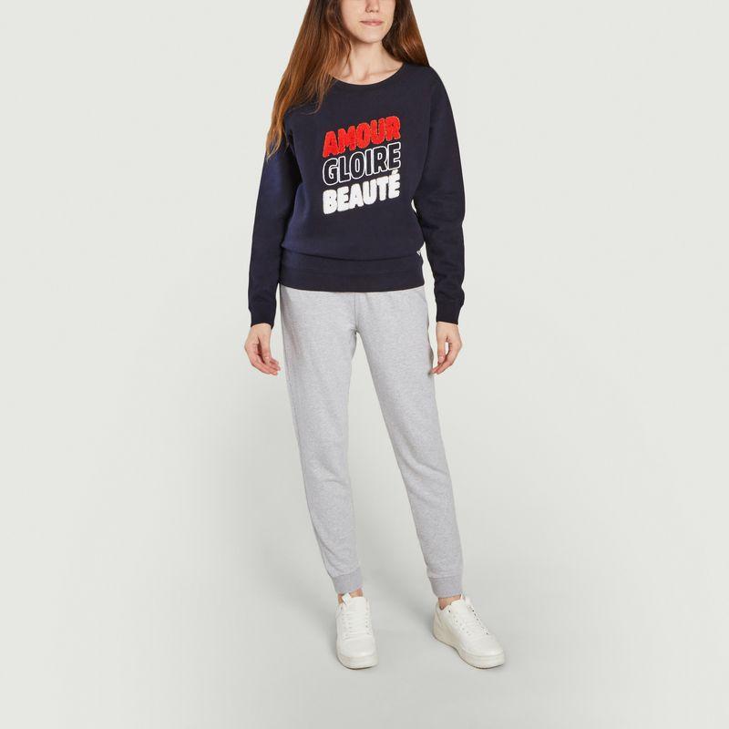 Sweatshirt Amour Gloire et Beauté  - French Disorder