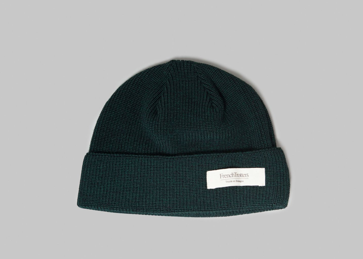 c64eff52aa19a Cousteau Beanie Fir GreenFrenchTrotters