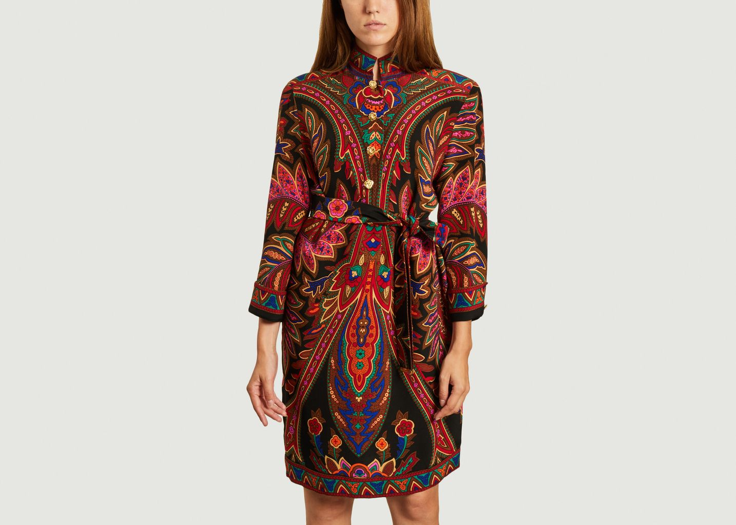 Robe Leonard Paris multicolore  - From My Mother