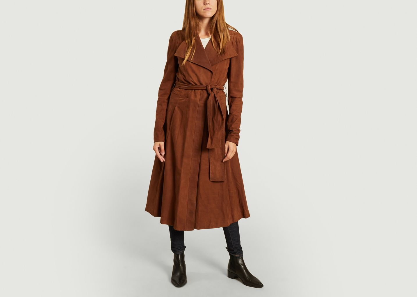 Trench Yves Saint Laurent en daim  - From My Mother