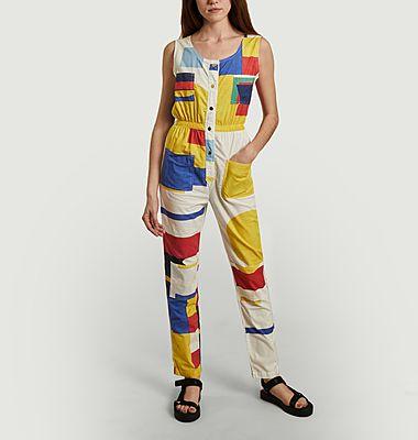 Combinaison-pantalon Géométrie Minimale