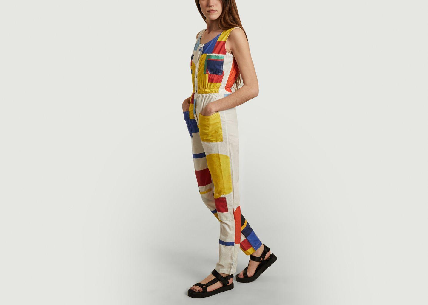 Combinaison-pantalon Géométrie Minimale - G.Kero