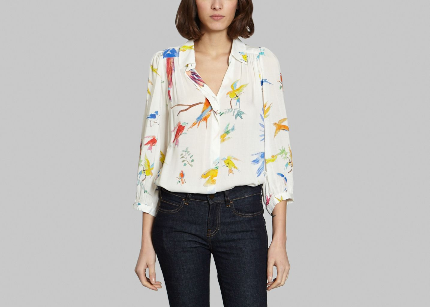 Blouse Flying Birds - G.Kero