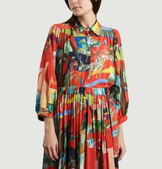 Blouse Jungle Sauvage