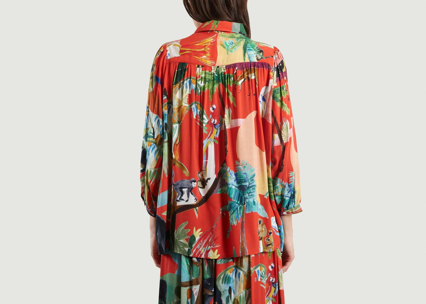 Blouse Jungle Sauvage - G.Kero