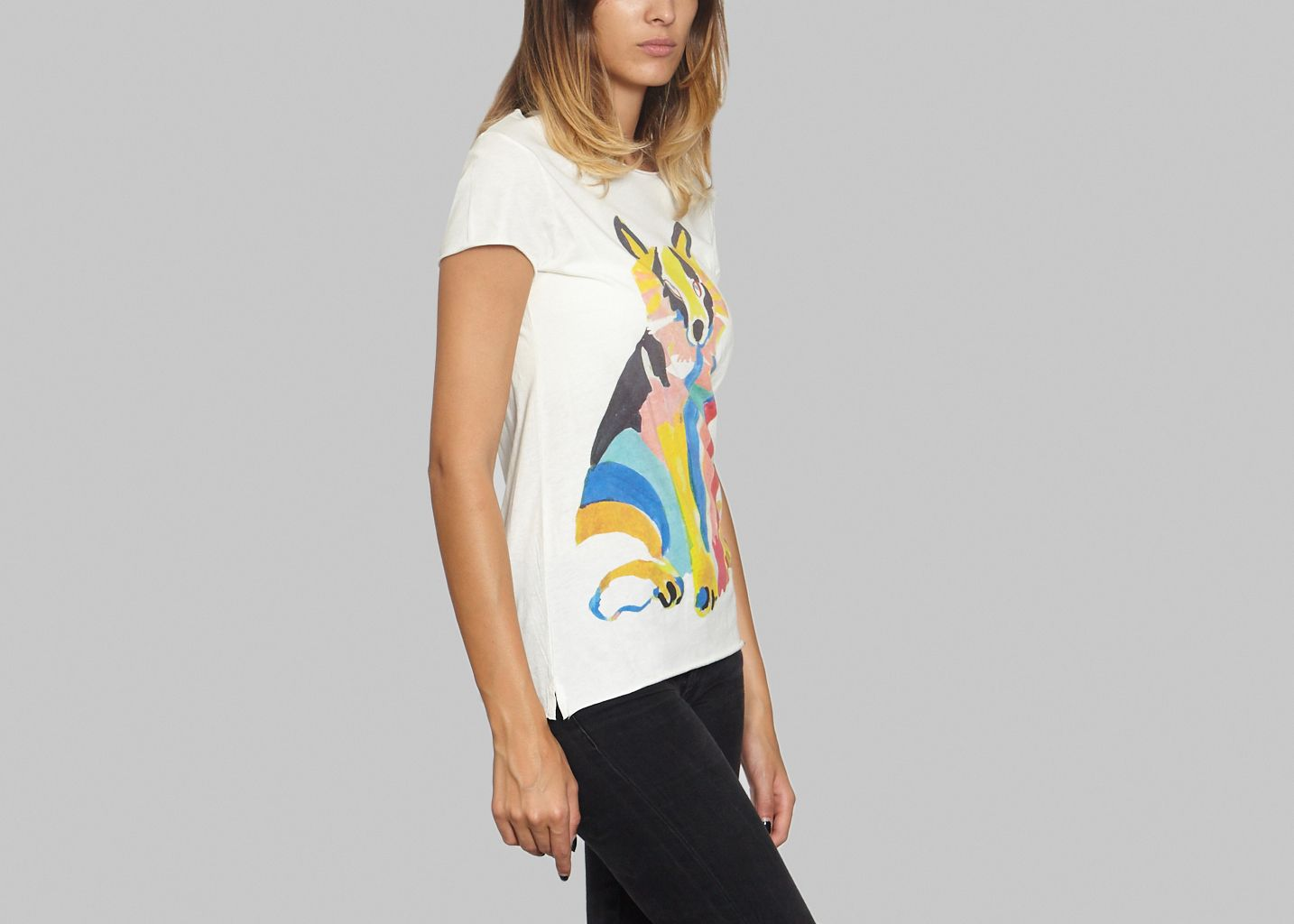 Tshirt Rainbow Fox - G.Kero