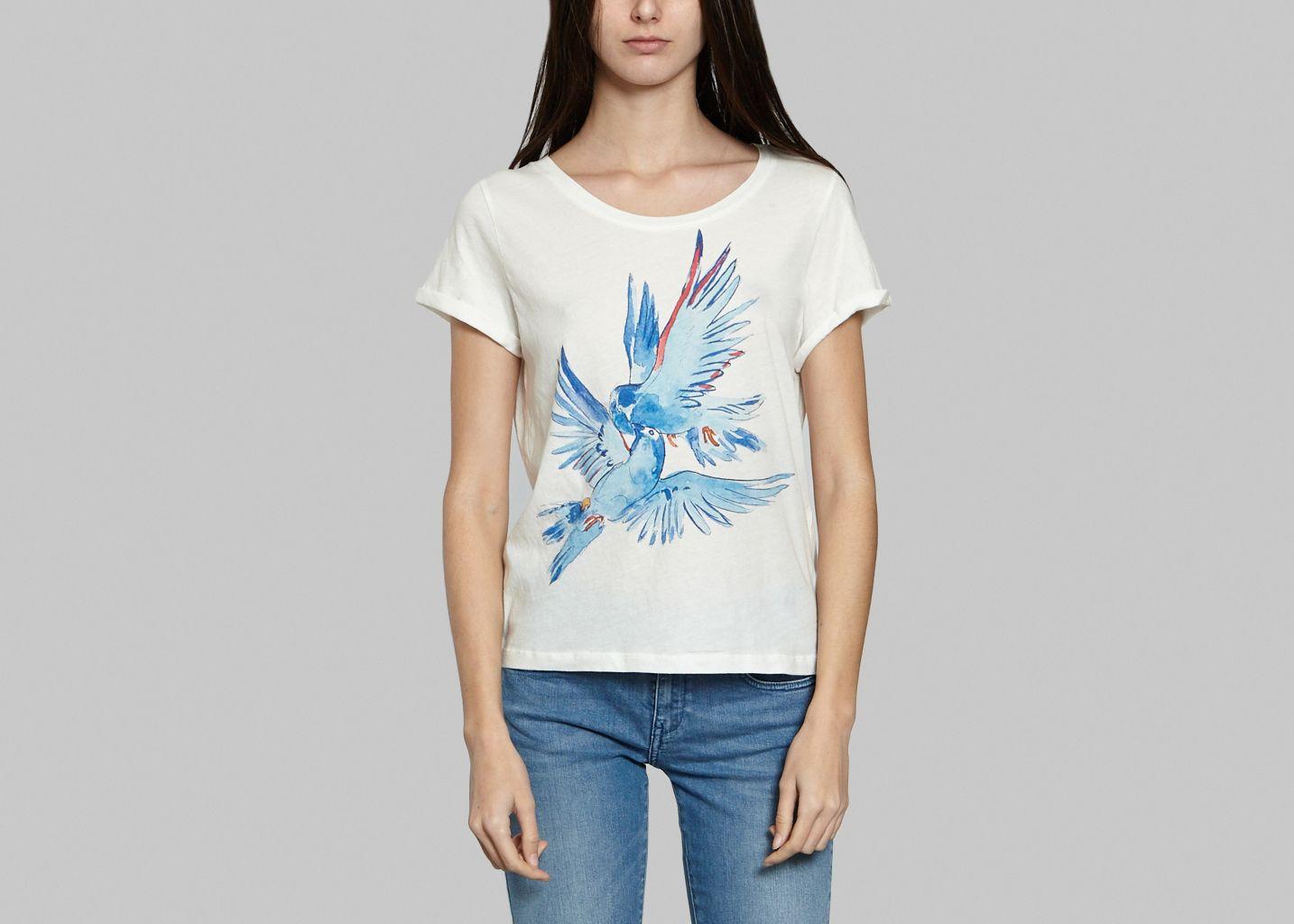 Tshirt Birds Kiss Cool  - G.Kero