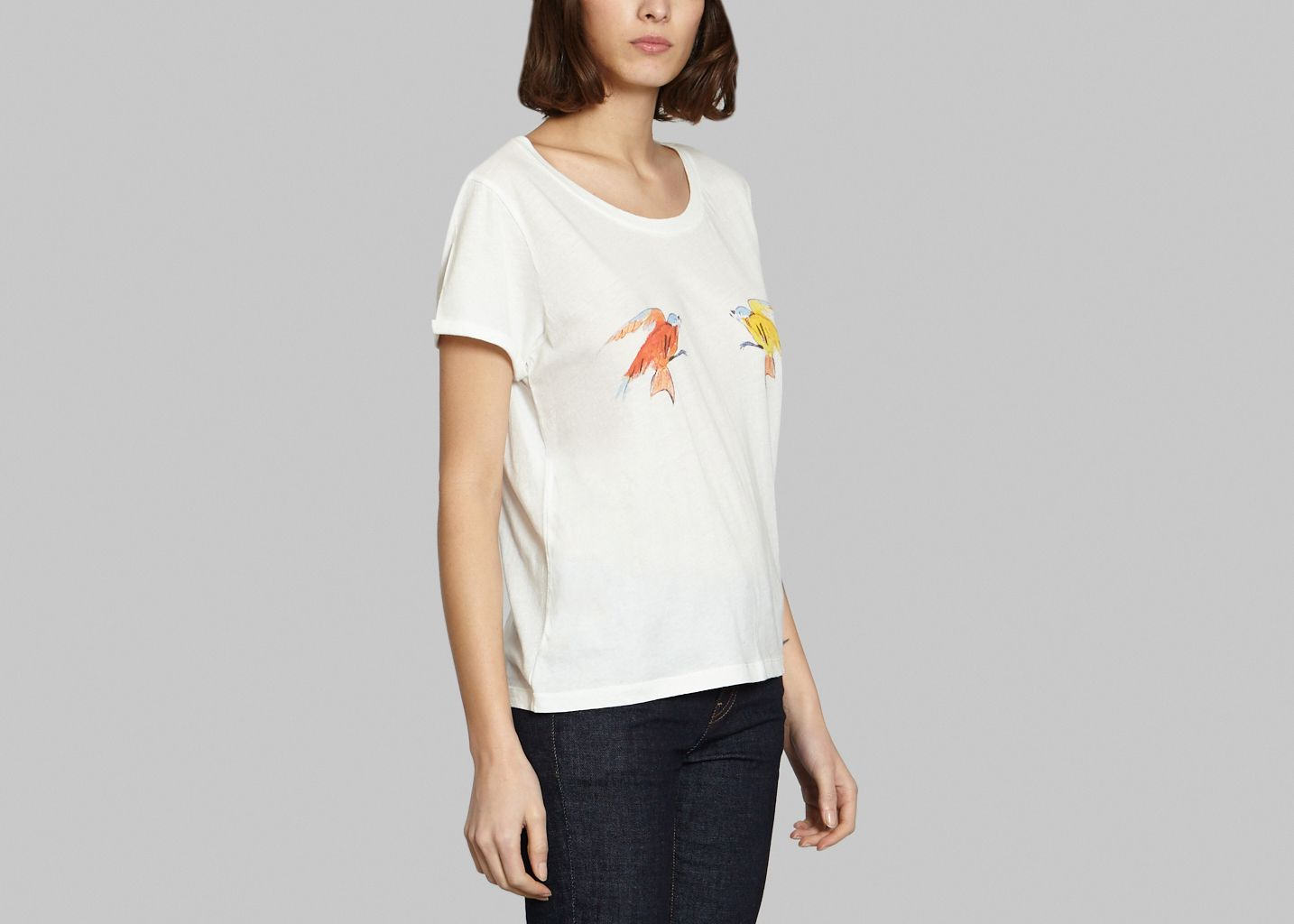 Tee-shirt Tits Birds - G.Kero