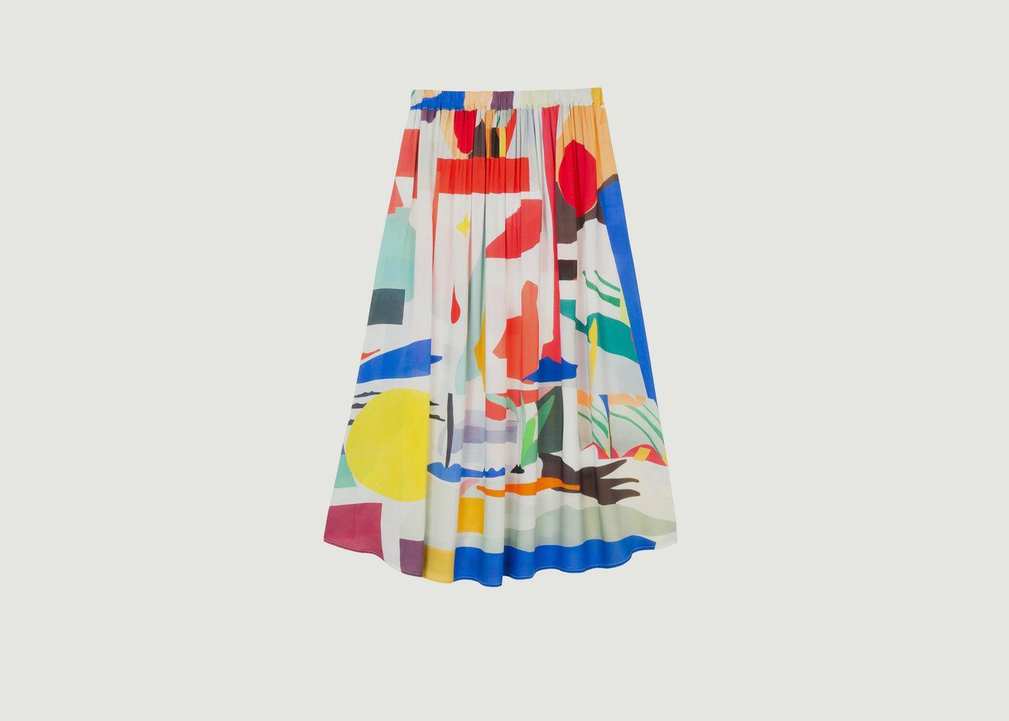 Jupe longue Abstract - G.Kero