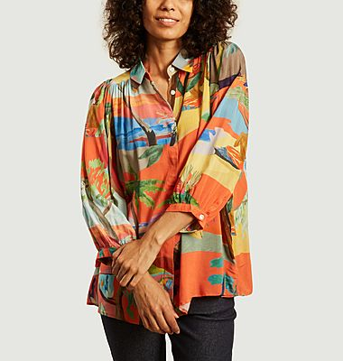 Blouse Palm Beach imprimée