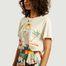 matière T-shirt Cindy Palm en coton - G.Kero
