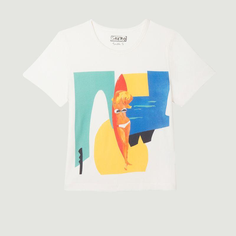 T-shirt en coton Marocco - G.Kero