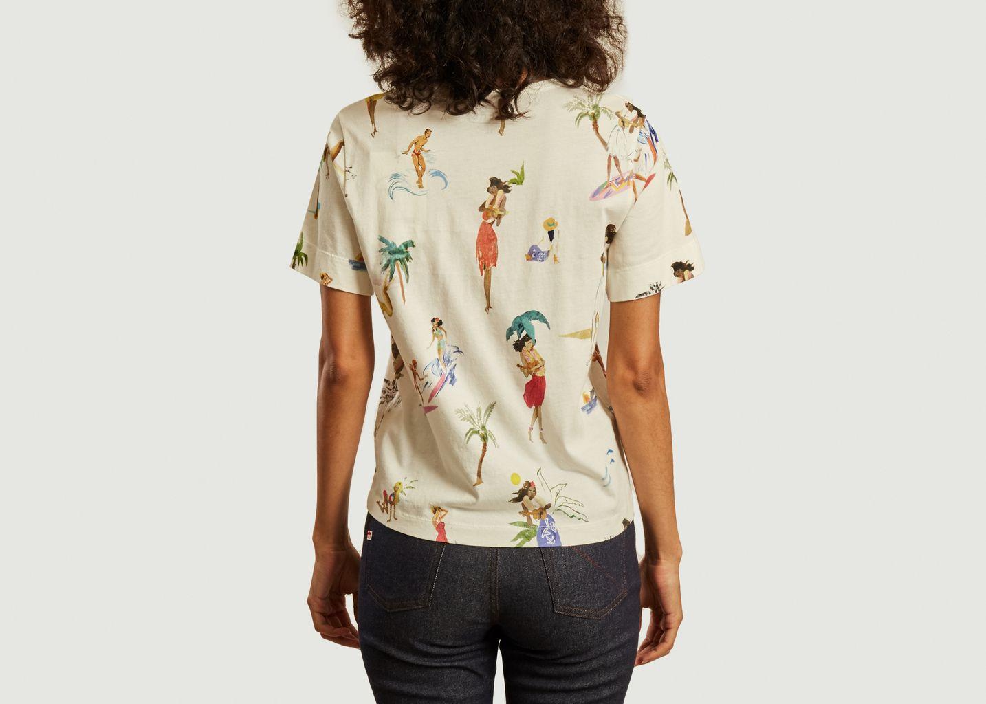 T-shirt en coton Yukuleles Small - G.Kero