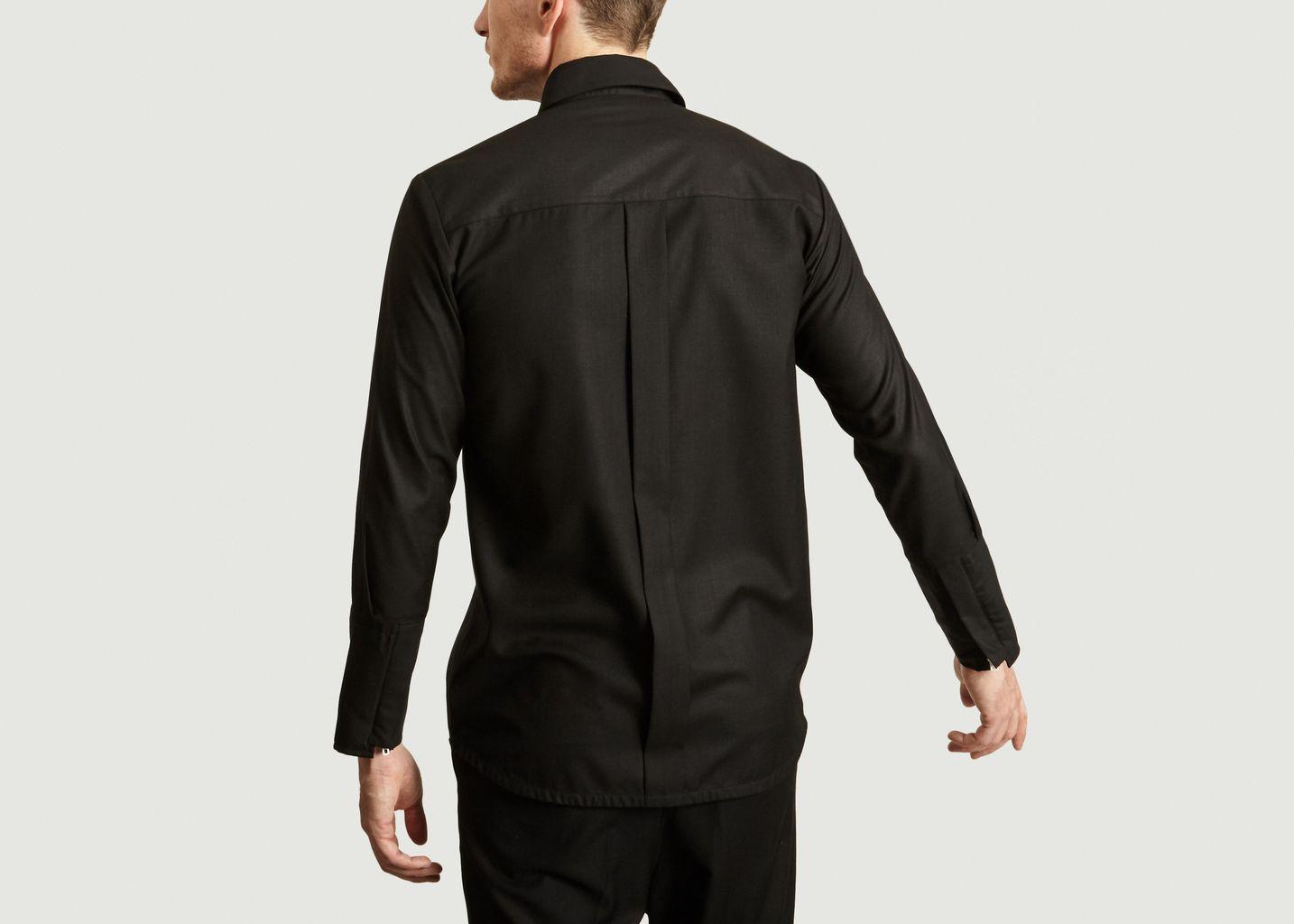 Chemise à Zip Blanc - Gagan Paul