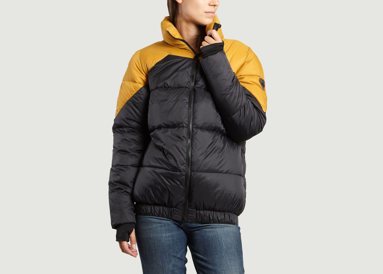 liv padded jacket black gertrude gaston l exception
