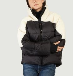 Liv Panelled Puffer Jacket