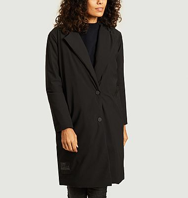 Manteau mi-longue à capuche Esther
