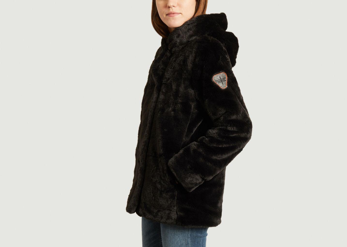 Manteau effet fourrure à capuche Fortuna - Gertrude + Gaston
