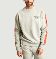 Printed Sweatshirt Gris