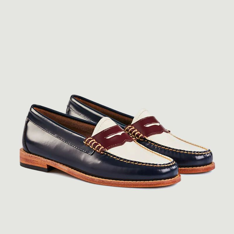 Mocassins Weejuns Penny Tricolore - G.H.Bass