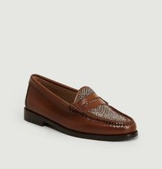 Weejuns Whitney Harris Tweed Loafers