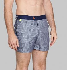 Air Azulejos Swimming Trunks